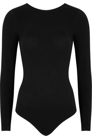 Wolford Women Bodies - Memphis stretch-knit thong bodysuit