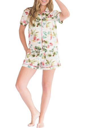 The Lazy Poet Women's Nina Hawaii Vibes Short Pajamas