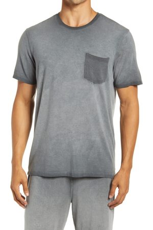 Daniel Buchler Men's Modal Blend Pocket Pajama T-Shirt