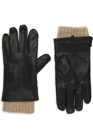 Nordstrom Men's Leather Cashmere Lined Gloves