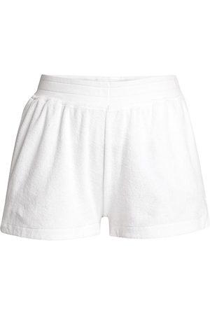 ATM Anthony Thomas Melillo Women Shorts - Women's Cotton Pool Shorts - - Size Large