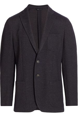 Saks Fifth Avenue Men's COLLECTION Speckle Twill Jacket - - Size 38 S