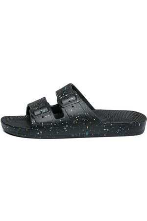 Freedom Moses Women's Speckled Plastic Pool Slides - - Size 9 Sandals
