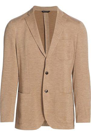 Saks Fifth Avenue Men's COLLECTION Virgin Wool Jacket - - Size 38 S