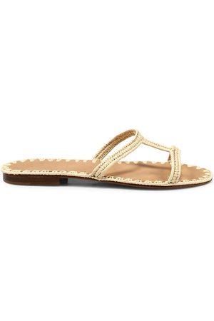 Carrie Forbes Women's Iris Raffia Slide Sandals - - Size 41 (11)