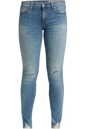 RAG&BONE Women's Cate Mid-Rise Ankle Skinny Jeans - - Size 27 (4)