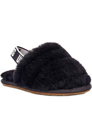 UGG Kid's Sheepskin Fluff Yeah Slides - - Size 6 (Child) Sandals