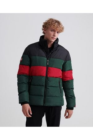 Superdry Colour Stripe Sports Puffer Jacket