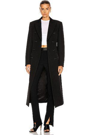 WARDROBE.NYC Women Coats - Double Breasted Coat in