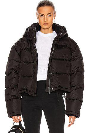 WARDROBE.NYC Gloss Puffer Jacket in