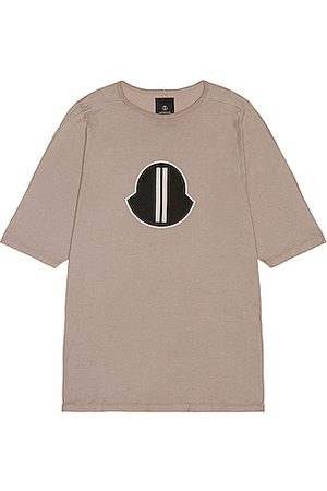 Moncler + Rick Owens Short Sleeve Graphic Tee in