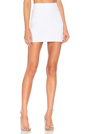 Susana Monaco Slim Skirt in White.