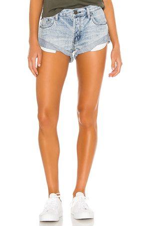 ONE TEASPOON Women Jeans - Bandits Denim Short.
