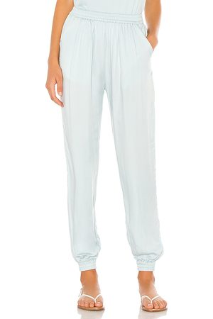 Indah Pierre Solid Easywear Lounge Pant in Baby Blue.
