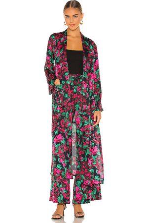 MISA Malini Robe in Pink,Black.