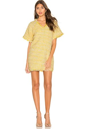 Lovers + Friends Sydney Mini Dress in Yellow.