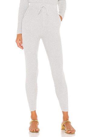 MAJORELLE Georgia Knit Pants in Grey.