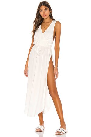 L*Space Kenzie Cover Up Dress in White.