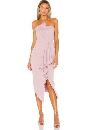 ELLIATT Women Strapless Dresses - Reception Dress in Mauve.