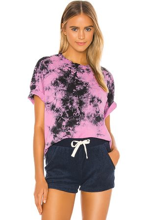 Electric & Rose State Pocket Tee in Pink.