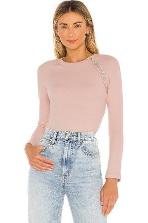 Lovers + Friends Remora Bodysuit in Pink.