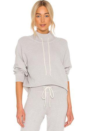 Varley Women Hoodies - Maceo 2.0 Sweatshirt in Grey.