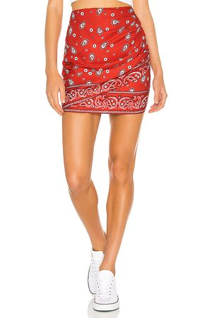 superdown Darby Mini Skirt in Red.