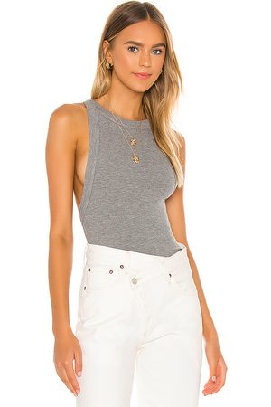 The Line By K Ximeno Tank in Grey.