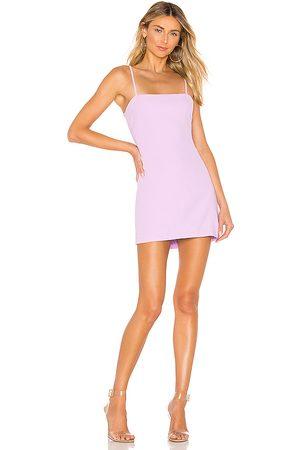 superdown Emma Tie Back Dress in Purple.