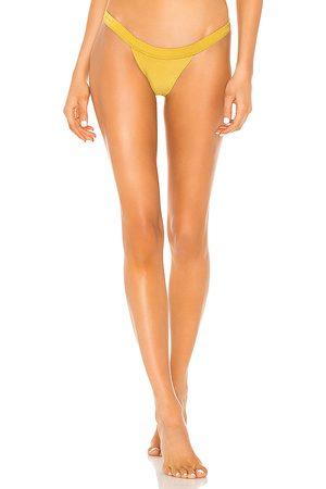 Tularosa Women Bikinis - Kenny Bottom in Yellow.