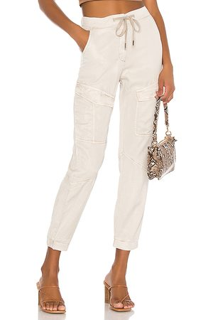 YFB CLOTHING Harrisson Pant in Taupe.