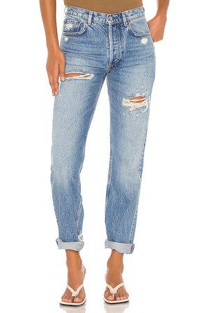 Boyish Women Straight - The Tommy Straight Leg Jean.