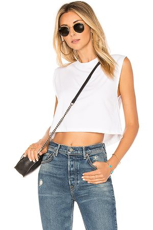 x karla The Sleeveless Crop Tank in .