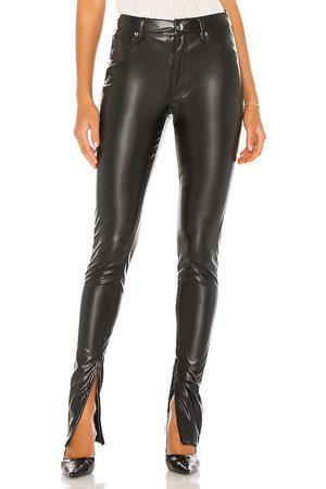 WeWoreWhat Stiletto Vegan Leather Zip Pant in .
