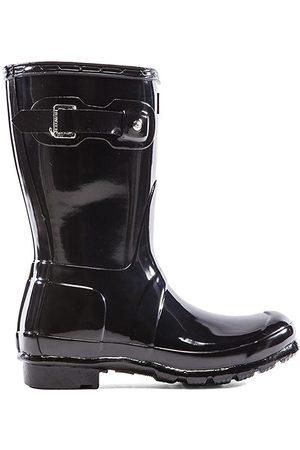 Hunter Original Short Gloss Boot in .
