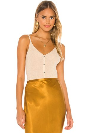 One Grey Day Sterling Cami Tank in Tan.