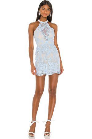 NBD Sage Mini Dress in Blue.