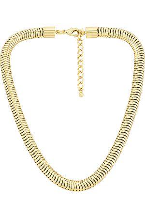 Uncommon James Medusa Necklace in Metallic .