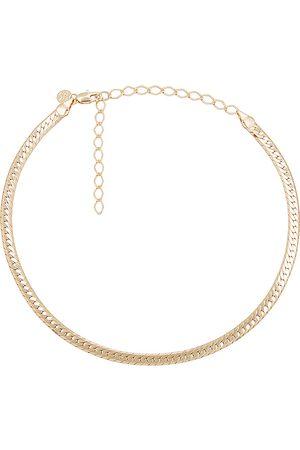 Child of Wild Sicily Herringbone Necklace in Metallic .
