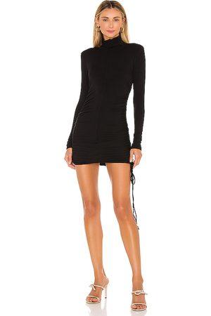 Michael Costello X REVOLVE Shirred Bodycon Mini Dress in .