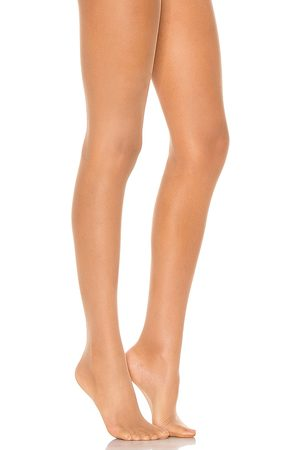 Wolford Individual 10 Tights in Tan.