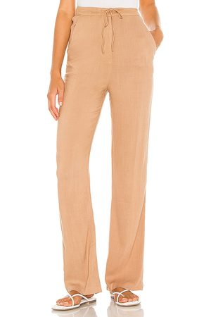 MAJORELLE The Amelia Pant in Tan.