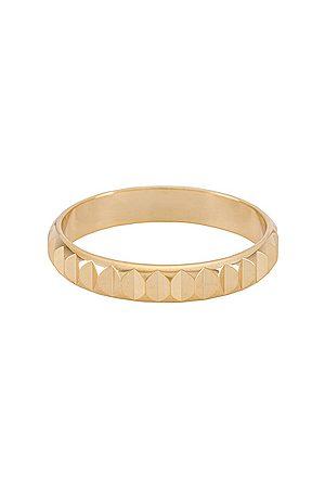 Shashi Virgin Ring in Metallic .