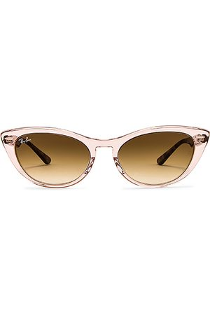 Ray-Ban Icon Cat Eye in Brown,Pink.