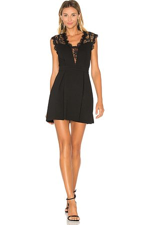 BCBGeneration Lace Inset Dress in .