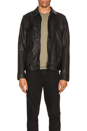 AllSaints Lark Leather Jacket in .