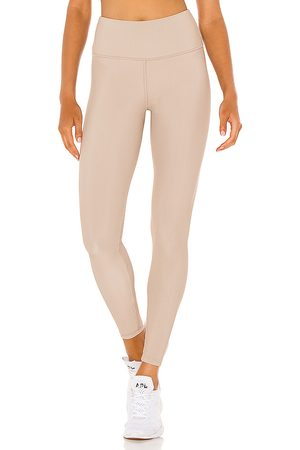 STRUT-THIS Kendall Ankle Legging in Beige.