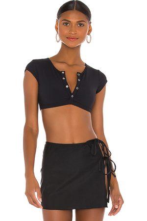 VDM Indie Bikini Top in Black.