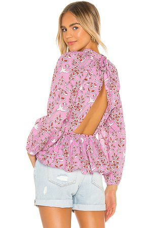 Rhode Damien Top in Pink.