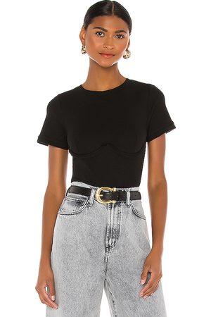 OW Intimates Thea Bodysuit in Black.